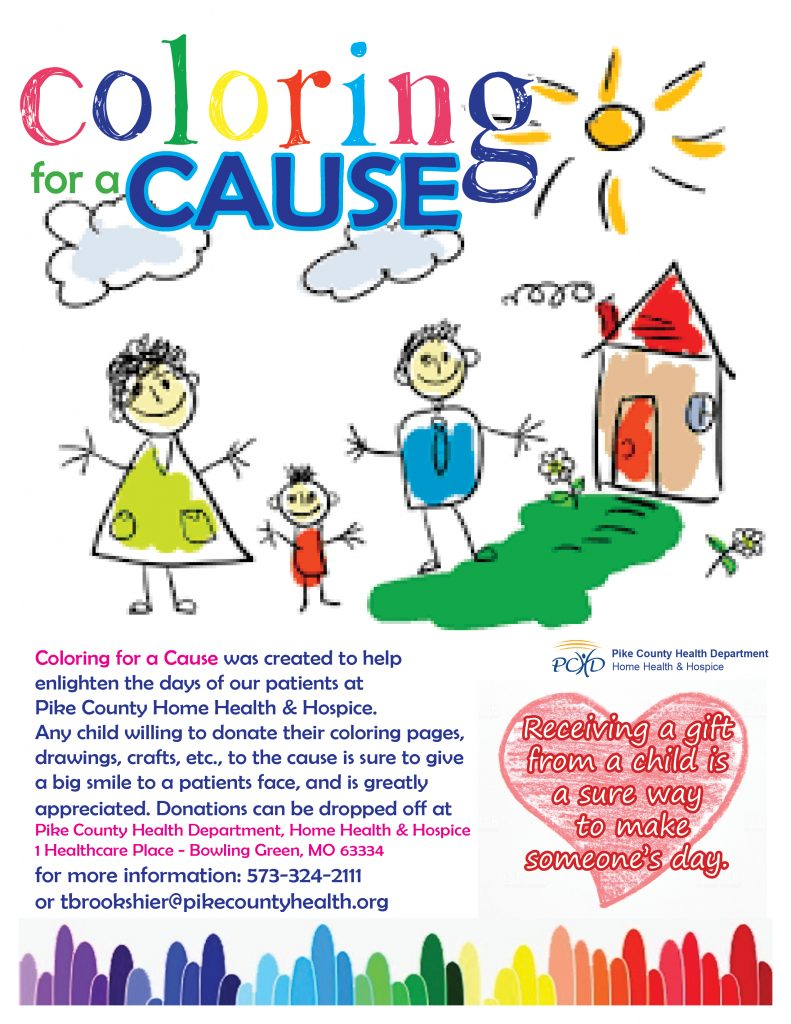 Coloring for a Cause
