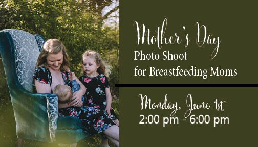 Mother's Day Breastfeeding Photo Shoot