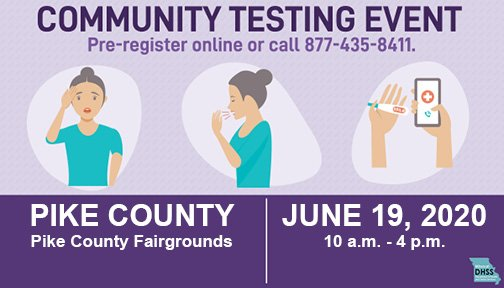 Drive-through Community COVID-19 Testing in Pike County