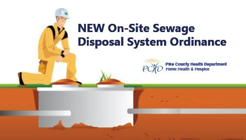 Updated On-site Sewage Disposal System Ordinance for Pike County, Missouri