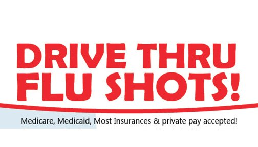 Louisiana Drive Thru Flu Shot Clinic
