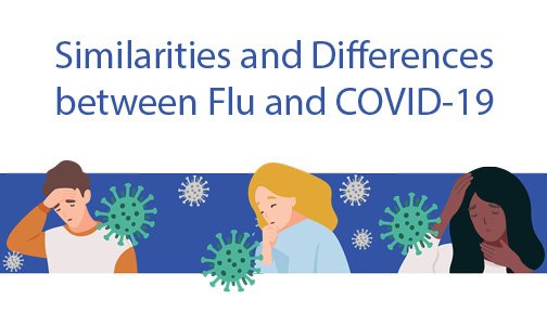 Similarities and Differences between Flu and COVID-19