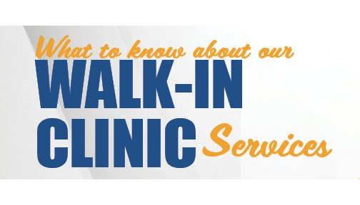 Our Walk-In Clinic Services