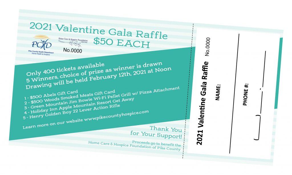 2021 Valentine Gala Raffle