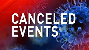 PCHD Cancels all upcoming events