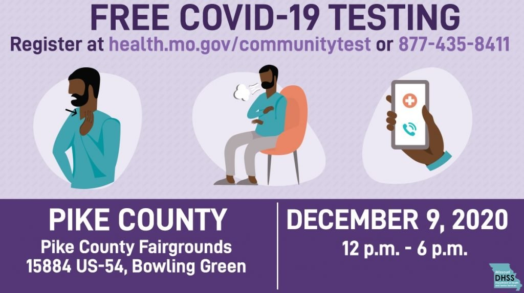 Free COVID-19 Testing in Pike County